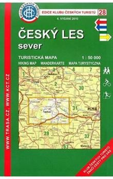 KČT 28 Český les sever cena od 73 Kč