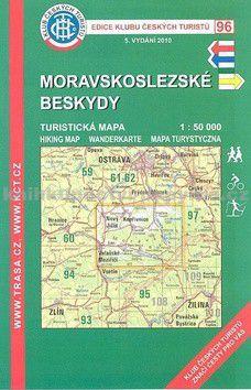 KČT 96 Moravskoslezské Beskydy cena od 89 Kč