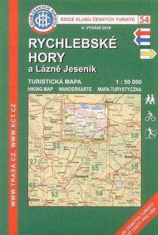 KČT 54 Rychlebské hory a lázně Jeseník cena od 89 Kč