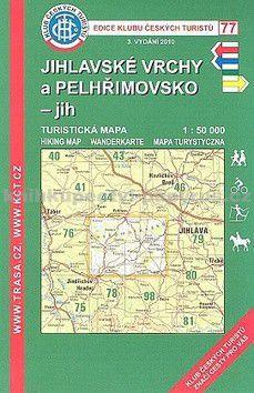 KČT 77 Jihlavské vrchy a Pelhřimovsko jih cena od 77 Kč