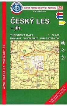 KČT 29 Český les-jih cena od 60 Kč
