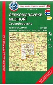 KČT 49 Českomoravské mezihoří Českotřebovsko cena od 69 Kč