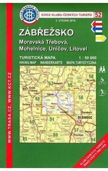 KČT 52 Zábřežsko Moravská Třebová, Mohelnice, Uničov, Litovel cena od 63 Kč