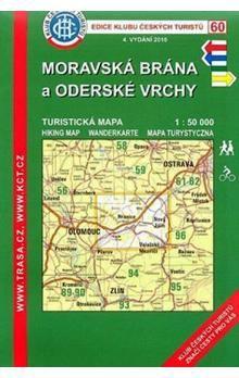 KČT 60 Moravská brána a Oderské vrchy cena od 50 Kč