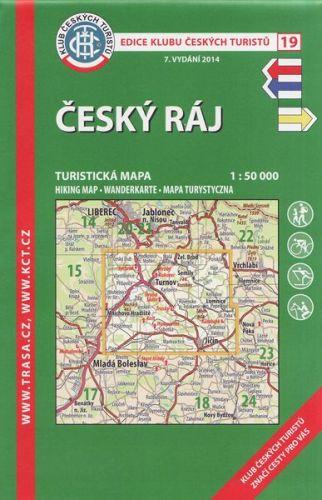 KČT 19 Český ráj cena od 89 Kč