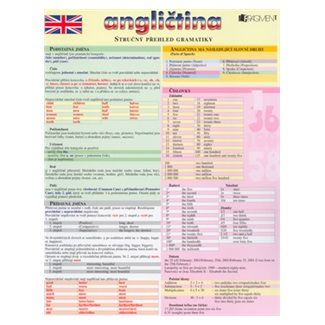 Angličtina /Stručný přehled gramatiky cena od 38 Kč