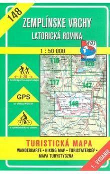 VKÚ Zemplínské vrchy Latorická rovina 1 : 50 000 cena od 76 Kč