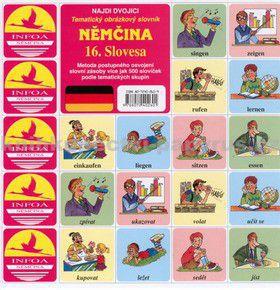 Antonín Šplíchal: Najdi dvojici Němčina - 16. Slovesa cena od 29 Kč