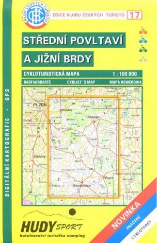 Cabalka Zdeněk KČTC 17 Střední Povltaví a jižní Brdy cena od 79 Kč