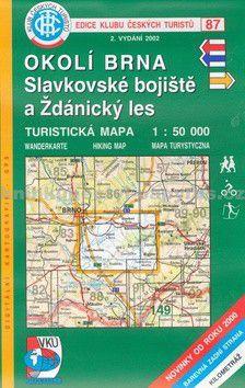 KČT 87 Okolí Brna, Slavkovské bojiště a Ždánický les cena od 90 Kč