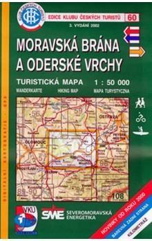 Kolektiv: 60 KČT Moravská brána a Oderské vrchy cena od 63 Kč