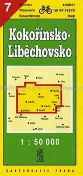 Kartografie PRAHA TM 7 Kokořínsko - Liběchovsko cena od 14 Kč