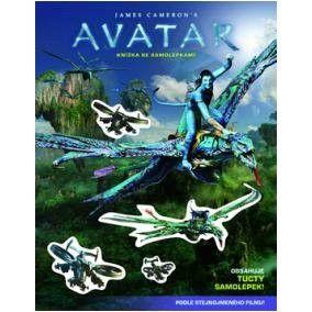 EGMONT Avatar Knížka se samolepkami cena od 79 Kč