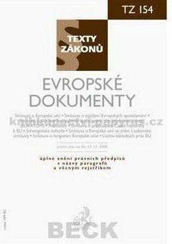 CH BECK Evropské dokumenty, právní stav k 15. 11. 2009 cena od 52 Kč