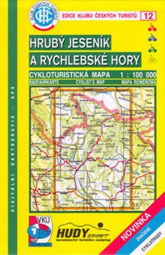 Cabalka Zdeněk KČTC 12 Hrubý Jeseník a Rychlebské hory cena od 84 Kč