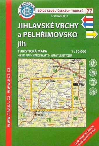 KČT 77 Jihlavské vrchy a Pelhřimovsko jih cena od 94 Kč