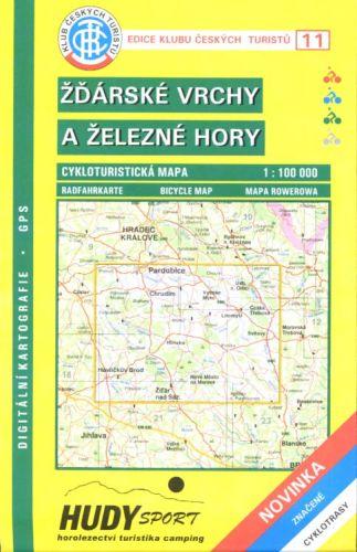 KČTC 11 Žďárské vrchy a Železné hory cena od 100 Kč