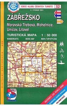 KČT 52 Zábřežsko, Moravská Třebová, Mohelnice, Uničov, Litovel cena od 69 Kč