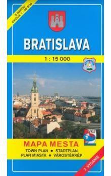 VKÚ Bratislava 1:15 000 cena od 82 Kč
