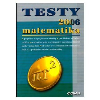 Jan Tarábek: Testy 2006 matematika cena od 67 Kč