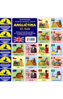 Antonín Šplíchal: Najdi dvojici - Angličtina - 15. Svět cena od 28 Kč