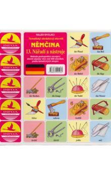 Němčina 13.Nářadí a nástroje cena od 24 Kč