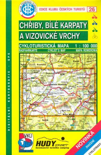 Cabalka Zdeněk KČTC Chřiby, Bílé Karpaty a Vizovické vrchy cena od 98 Kč
