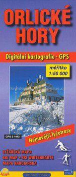 JENA Orlické hory 1:50 000 lyžařská mapa cena od 37 Kč