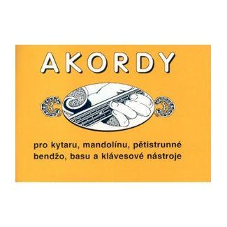 Jiří Macek: Akordy pro kytaru, mandolínu, pětistrunné bendžo, basu a klávesové nástroje cena od 43 Kč