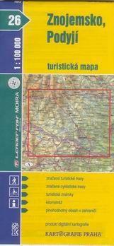 Kartografie PRAHA Znojemsko, Podyjí 1:100 000 cena od 18 Kč