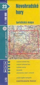 Kartografie PRAHA Novohradské hory 1:100 000 cena od 15 Kč