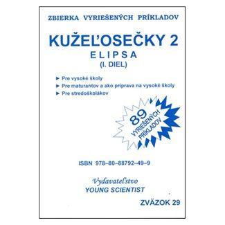 Young Scientist Kužeľosečky 2 Elipsa I.diel cena od 49 Kč