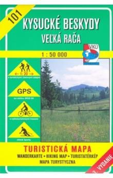 VKÚ Kysucké Beskydy Veľká Rača 1:50 000 cena od 77 Kč