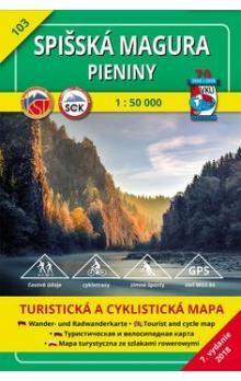 VKÚ Spišská Magura, Pieniny 1:50 000 cena od 76 Kč