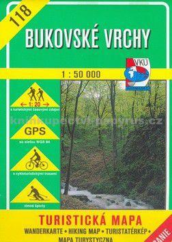 Kolektiv: Bukovské vrchy 118 - 1:50 000 cena od 95 Kč