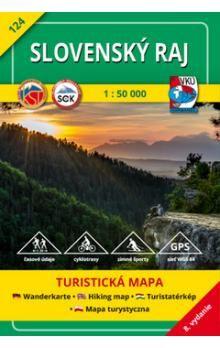 VKÚ Slovenský raj 1 : 50 000 cena od 73 Kč