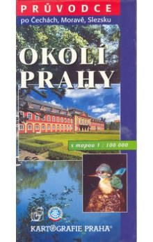 Kartografie PRAHA Okolí Prahy s mapou 1:100 000 cena od 36 Kč