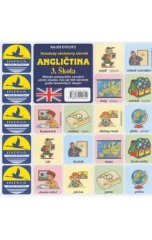 Antonín Šplíchal: Najdi dvojici - Angličtina - 3. Škola cena od 24 Kč