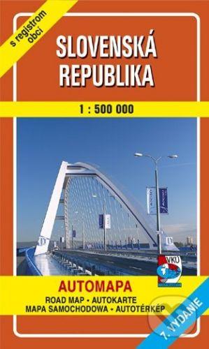 VKÚ Slovenská republika 1 : 500 000 cena od 69 Kč