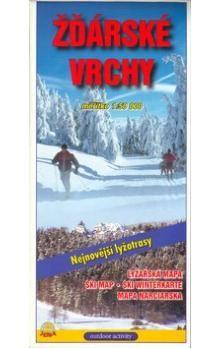 JENA Žďarské vrchy 1:50 000 lyžařská mapa cena od 33 Kč