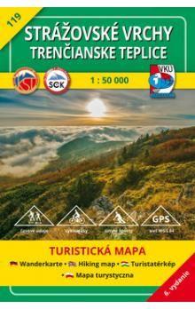 VKÚ Strážovské vrchy, Trenčianske Teplice1:50 000 cena od 111 Kč