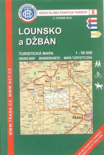 Cabalka Zdeněk KČT 8 Lounsko a Džbán cena od 90 Kč