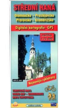 JENA Střední Haná 1:75 000 Olomoucko, Prostějovsko, cena od 30 Kč
