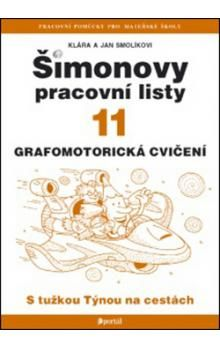 Klára, Jan Smolíkovi: Šimonovy pracovní listy 11 cena od 123 Kč
