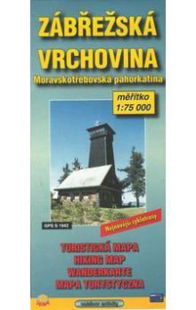 JENA Zábřežská vrchovina 1:75 000 cena od 32 Kč