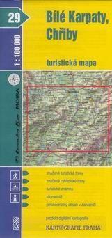 Kartografie PRAHA Bílé Karpaty, Chřiby 1:100 000 cena od 18 Kč