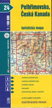 Kartografie PRAHA Pelhřimovsko, Česká Kanada 1:100 000 cena od 15 Kč