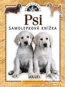 Samolepková knížka Psi cena od 65 Kč