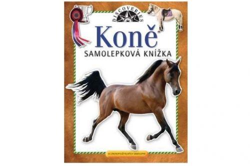 Samolepková knížka Koně cena od 68 Kč