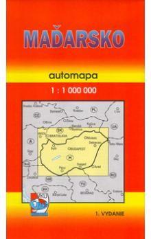 VKÚ Maďarsko 1:1000 000 cena od 42 Kč